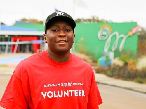 Jackson State University Student Benjamin Barner Named MCM Volunteer of the Month