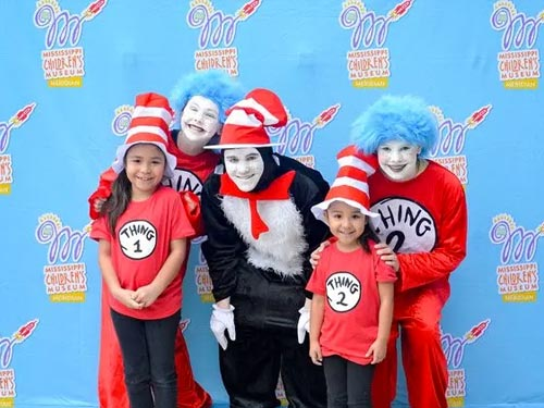 People Dressed Up As Dr Seuss