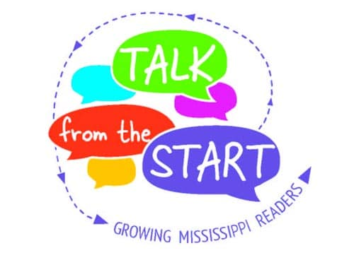 Talk From the Start Graphic